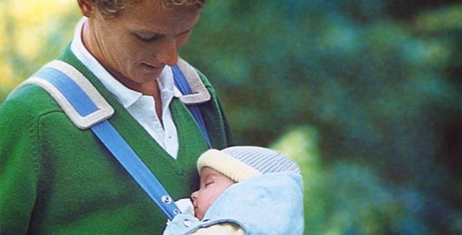 Segurar seu filho junto ao corpo num sling ou canguru pode ajudá-lo, pois muitos bebês se acalmam com o movimento.